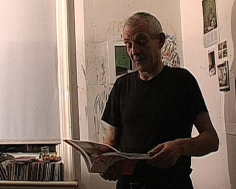 Brian Chalkley advertising the bucket book [2005]