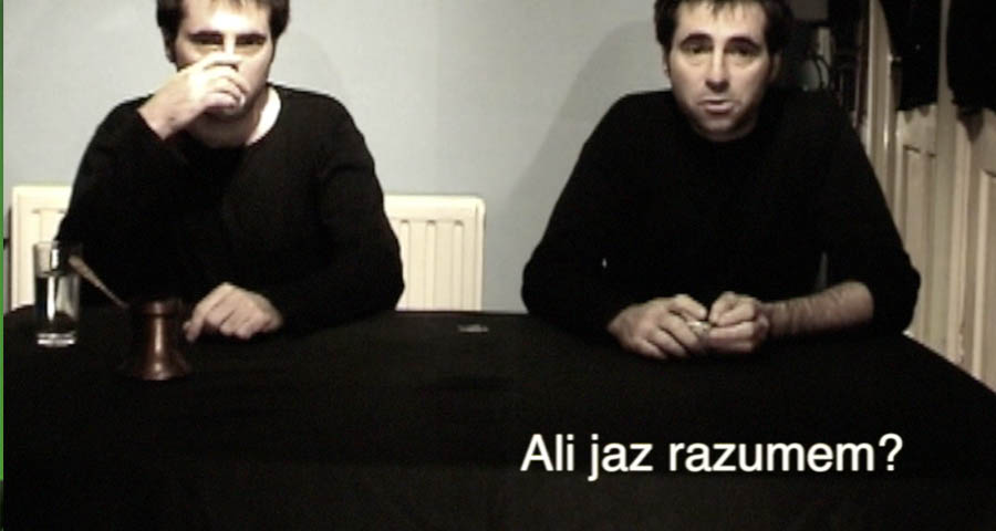 Conversation about art [2005] (Slovenian subtitles)